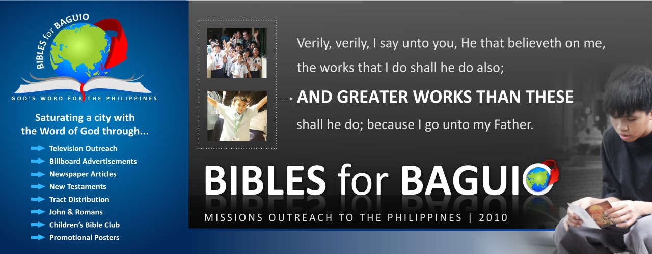 Bibles for Baguio Project